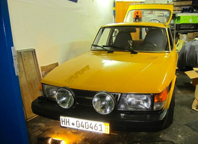 Saab Fricition Tester fuer die Nordi Car Classic
