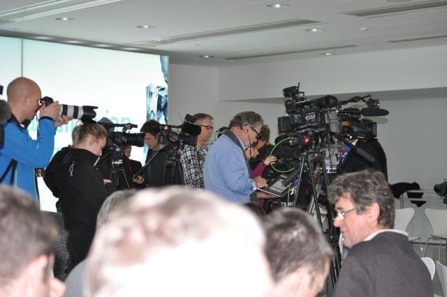 Saab Pressezentrum