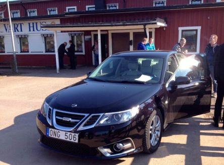 Saab 9-3 Aero MY 2014