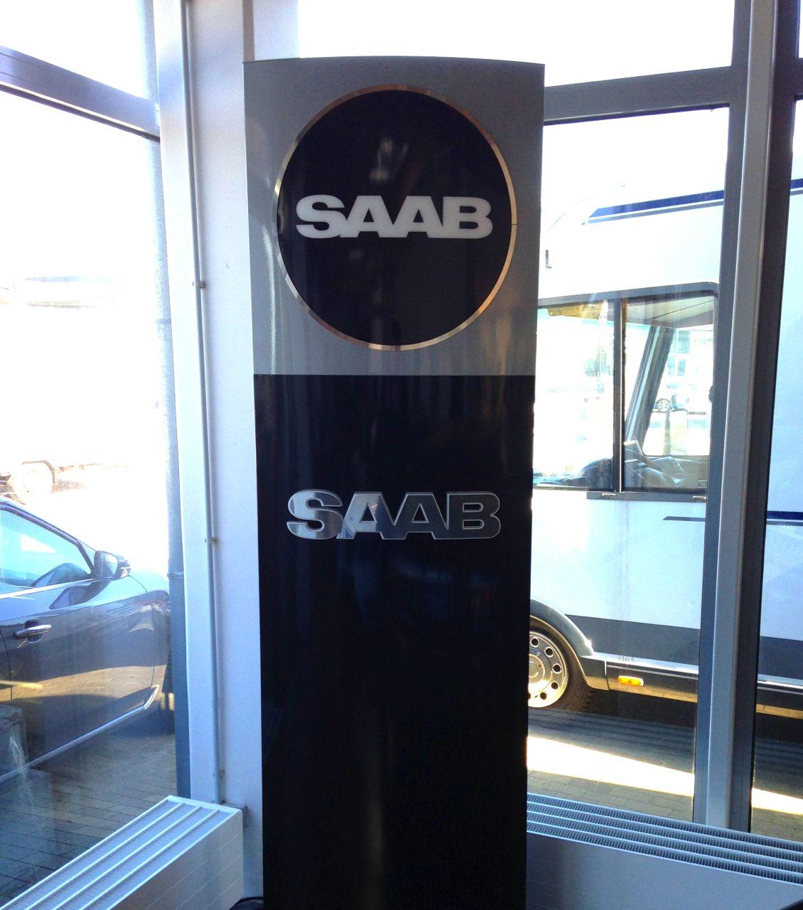 Neue, inoffizielle, Saab CI im Saab Zentrum Kiel