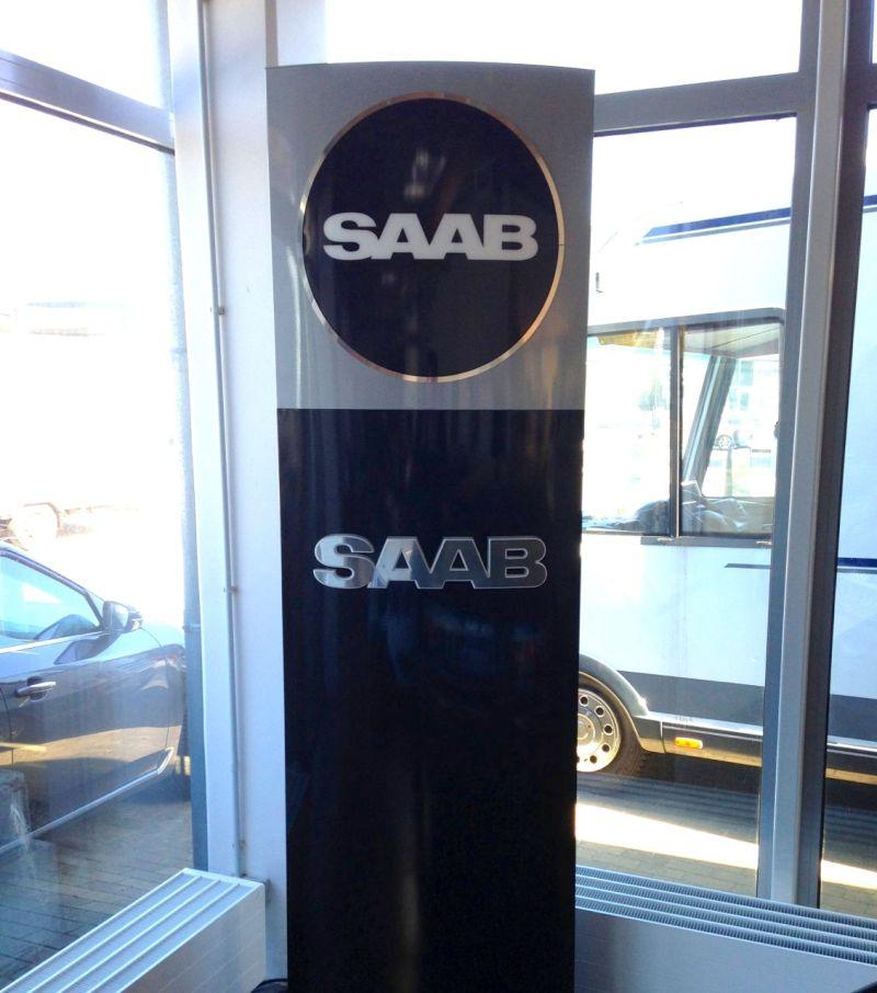 Nuevo, no oficial, Saab CI en Saab centro Kiel