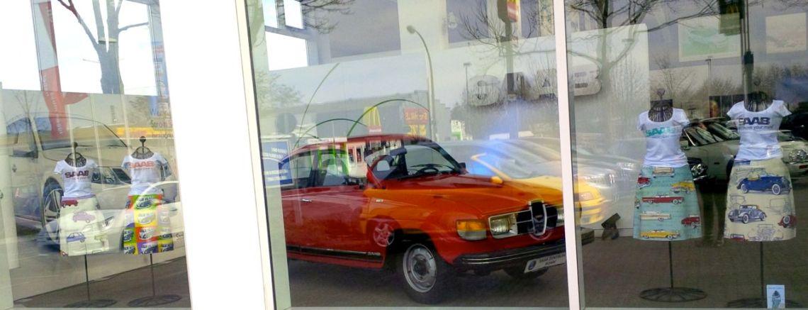 Saab showcase with Saab 96