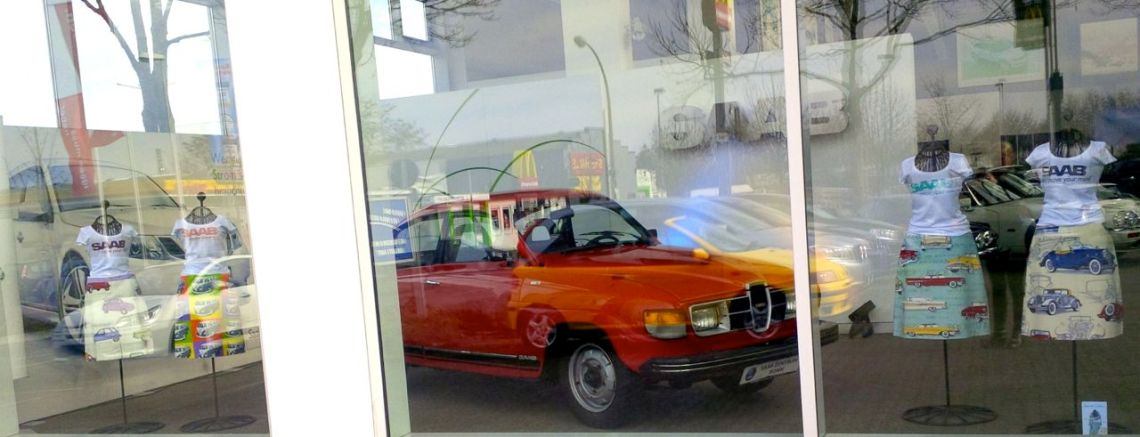 Saab showcase com Saab 96