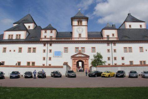 Foto stop en lunch in Schloss Augustusburg