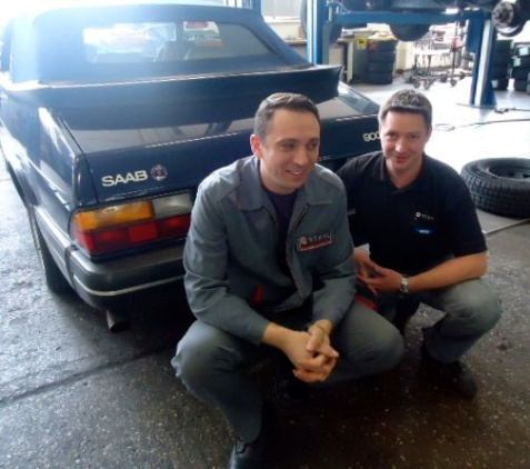 Saab classics are welcome at Auto Stahl!