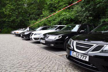 Saab Parking only am Lingnerschloss @2014 saabblog.net