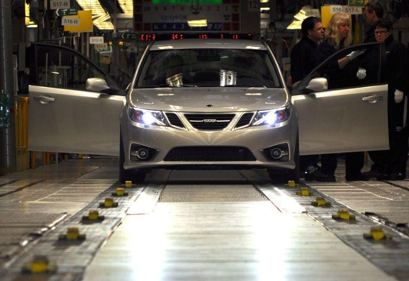 Saab-produktion på NEVS © 2014 saabblog.net