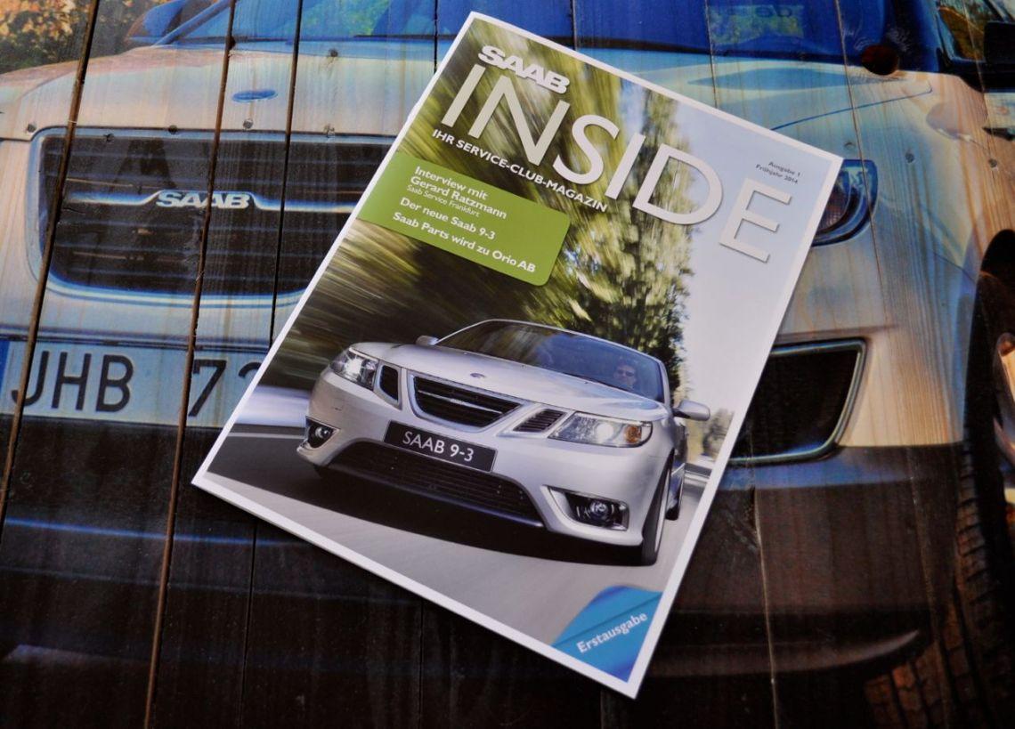 Saab Inside - Saab Magazine © 2014 saabblog.net