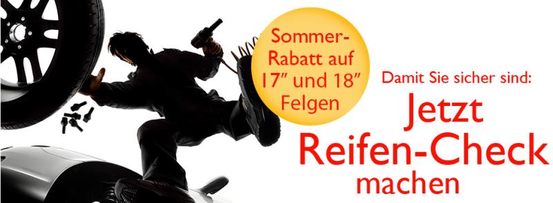 Sommarpriser för Saabfälgar i Schweiz.