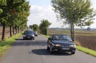 ...unterwegs auf sächsischen Straßen.