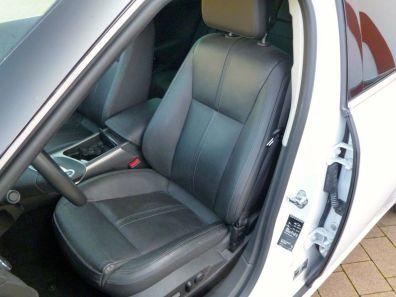 Saab 9-5 NG Arctic White, Komfort Sitze