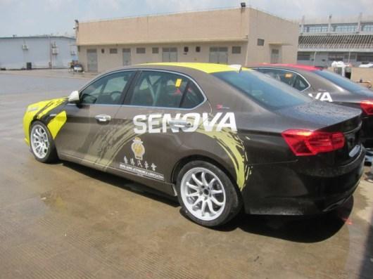 Senova D70, ex Saab 9-5 OG