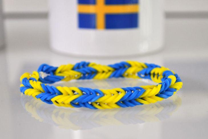 Schwedisches Loomband im Saab Fanshop ©2014 saabblog.net