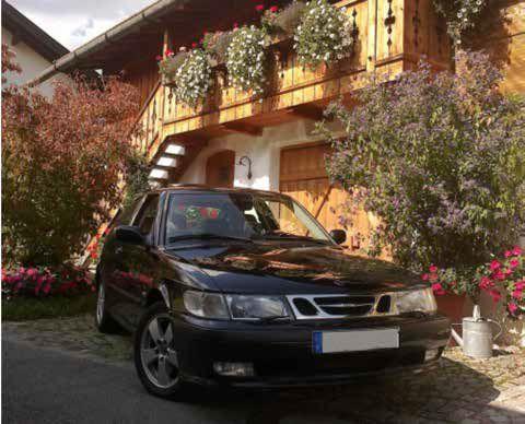 Saab 9-3 Coupe - das Hochzeitsauto