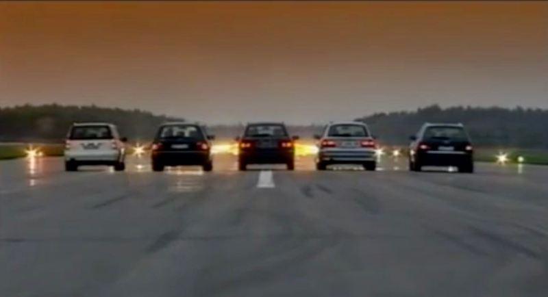 Saab 9-5 vs. BMW, Mercedes, Audi und Volvo
