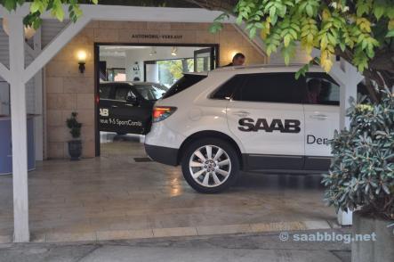 Saab 9-4x bei Bredlow