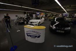 Clubstand des 1. deutschen Saab Clubs
