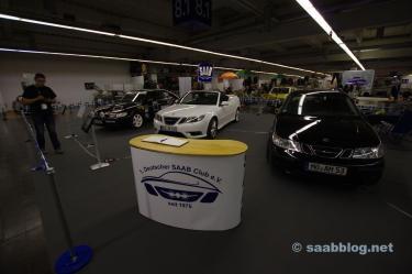 Clubstand van de 1. Duitse Saab-clubs