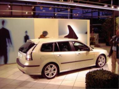 Saab 9-3 sportswear