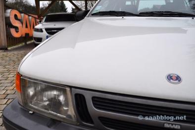 Réunion des générations. 9000 CC et 9-5 NG. Le premier et le dernier grand Saab.