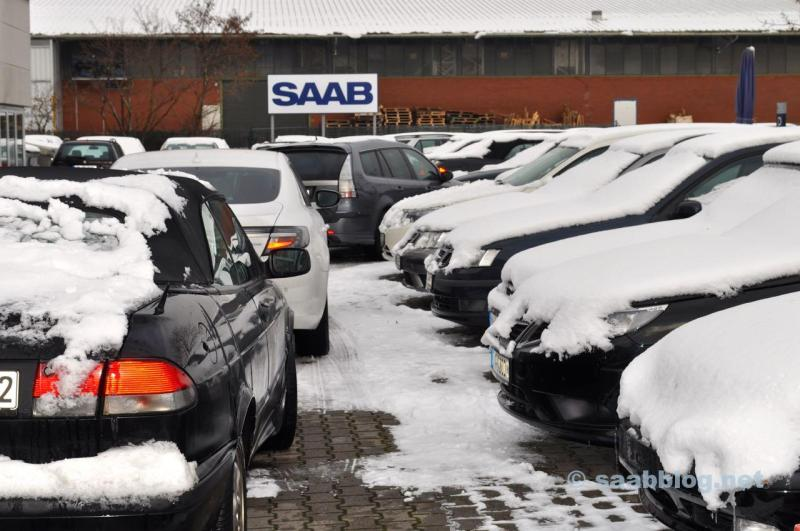 Saab - Saab - Saab. Visitando Saab Service Frankfurt