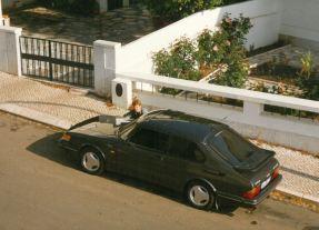 SAAB 900 Turbo 16S i Portugal med mig