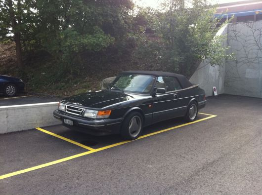Saab Convertible 900 Turbo S