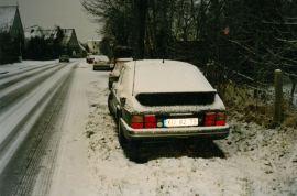 2. SAAB 900 Turbo 16S i Tyskland semester