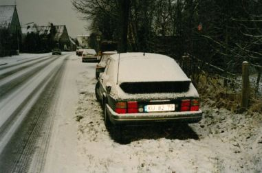 2. SAAB 900 Turbo 16S in Duitsland vakantie