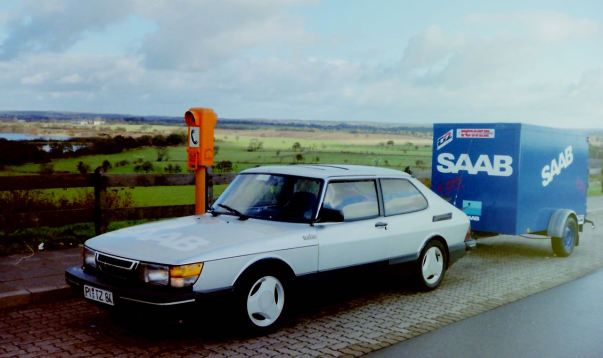 3. SAAB 900 Turbo 16S unterwegs