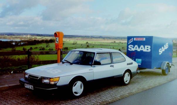3. SAAB 900 Turbo 16S onderweg