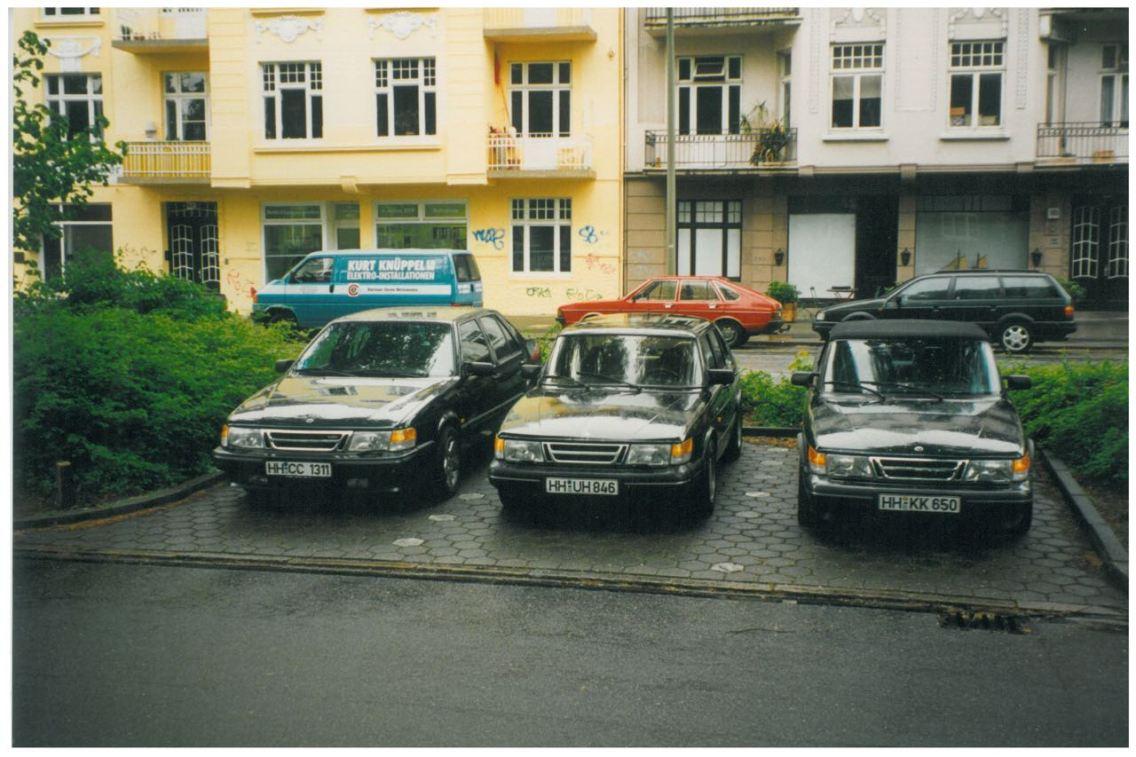 1994 SAAB in HH-Eppendorf