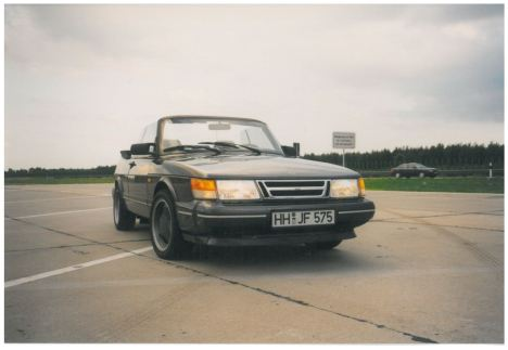 1998 SAAB 900 Cabrio US-Import