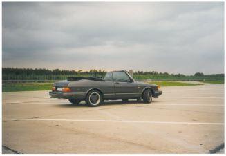 1998 SAAB 900 Convertible US Import