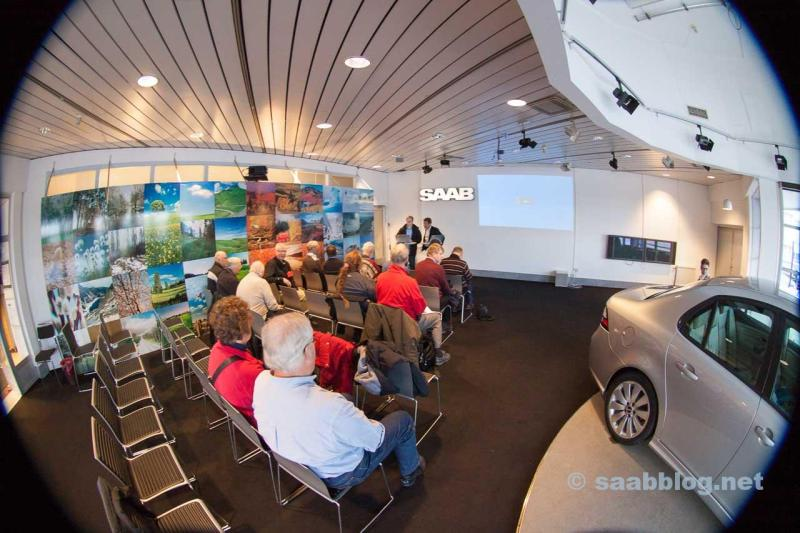 """The """"SAAB today and tomorrow"""" presentation turned out to be a dry-run for the NEVS creditors meeting the day after."""