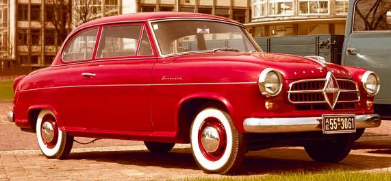 The Schoene: Borgward Isabella. Image: Borgward AG