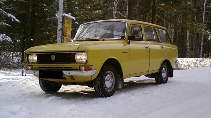 Saab föregångare: Moskwich