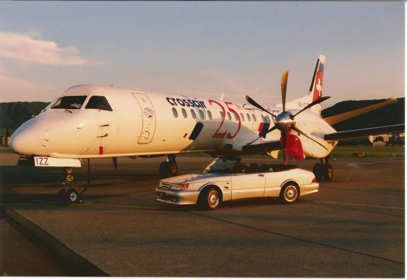 Saab 2000 trifft Saab 900