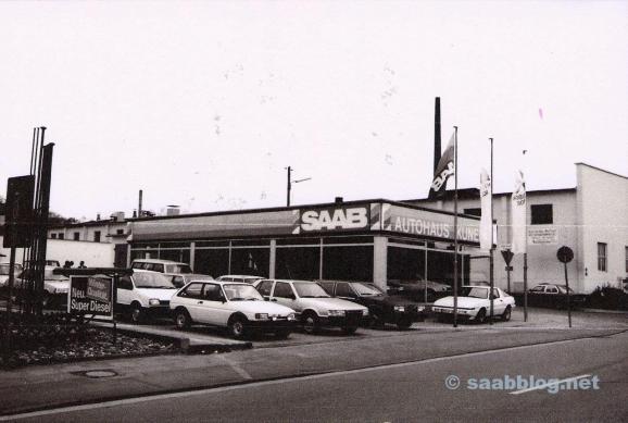 Autohaus Kunert, ny start med Saab.