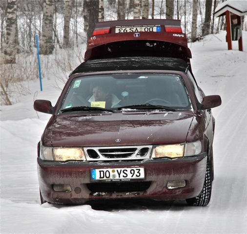 Saab in Finnland. 2009