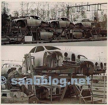 Varios cuerpos son transportados en tren desde Suecia a Bélgica.
