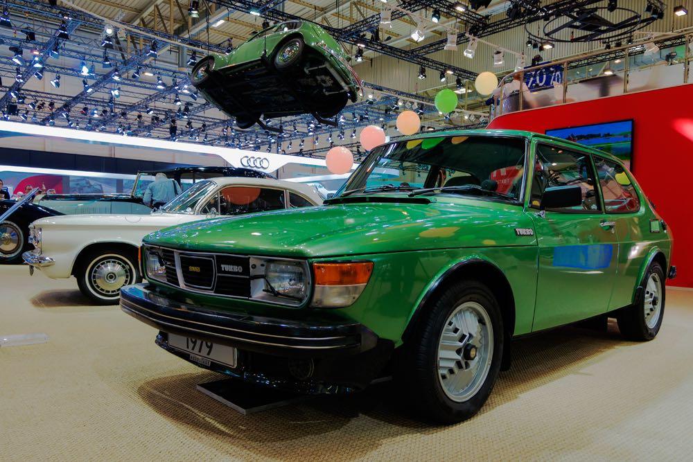 Saab 99 Turbo bei der VW Autostadt. Bild: Richard