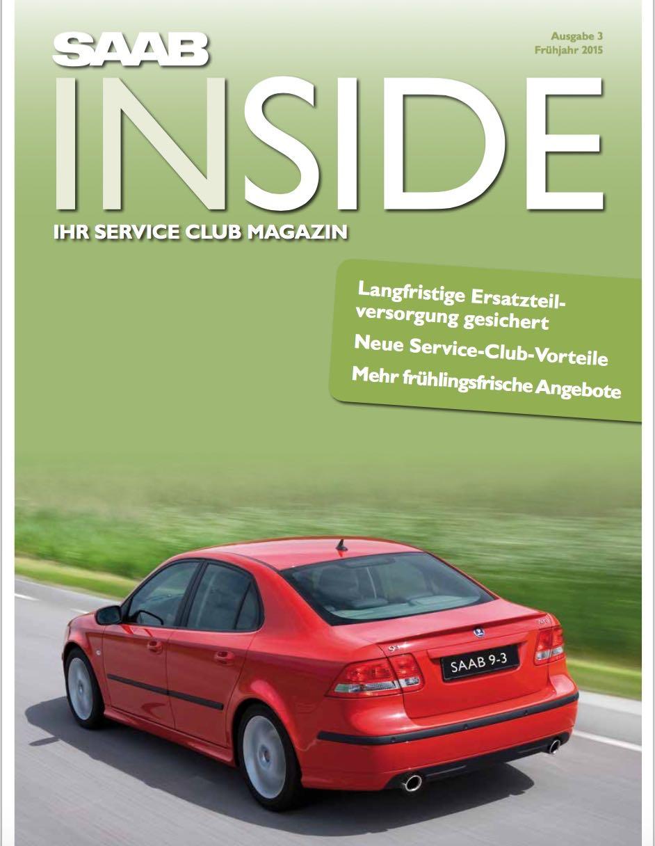 De nieuwe Saab Inside is hier!