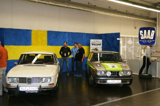Stand del club Saab. Picture Juergen.