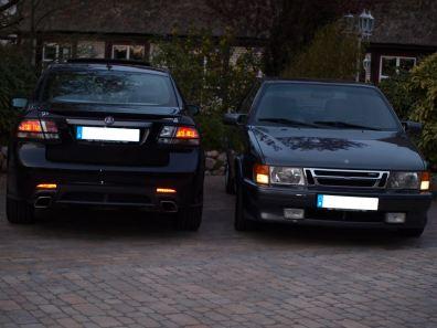 Saab 9000 meets TX