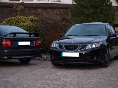 Saab 9000 und Saab Turbo X
