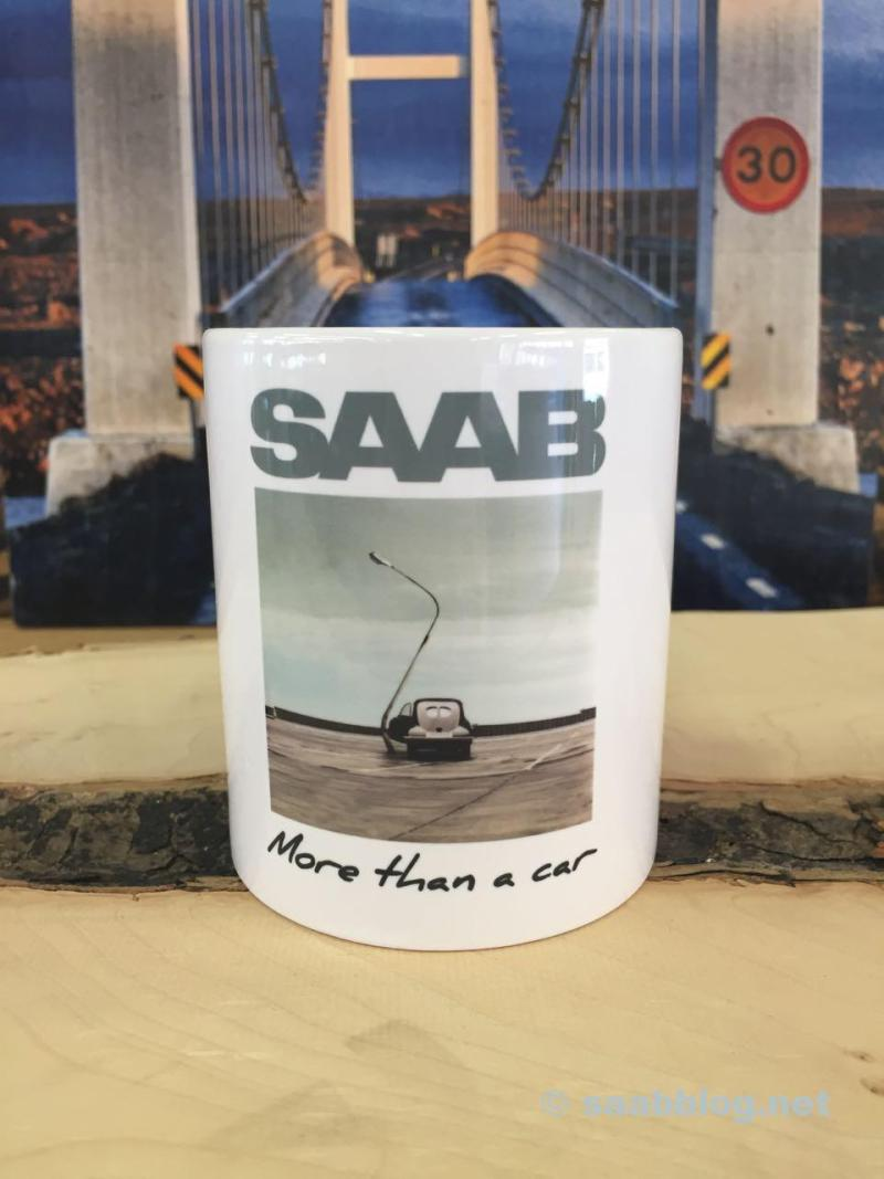 Aufprallschutz 1947. Saab Lesertasse 2015
