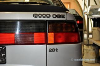 Le projet Anna. Anniversaire de Saab 9000 CSE 2.3t