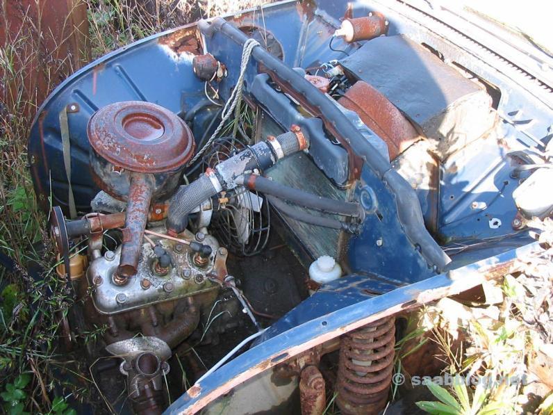 Impressões de junkyard da Suécia.