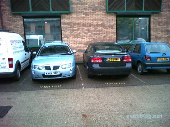 La historia de Saab de Markus. Alquiler de autos: Saab o Rover?